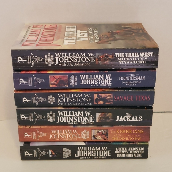 William W Johnstone western books #8